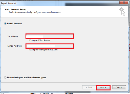 how to add email account in outlook 2007